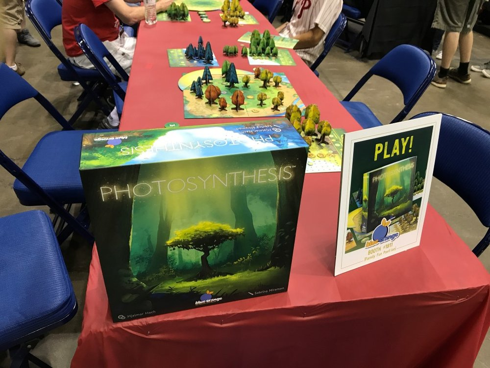 Finally Photosynthesis the board game!  Now I can be a tree growing from sapling to adulthood!  Take that grade 4 science!