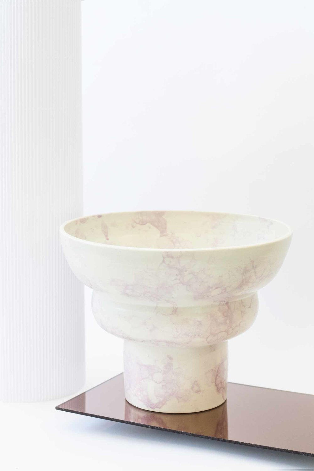 pedestal large bowl mills products pine pottery