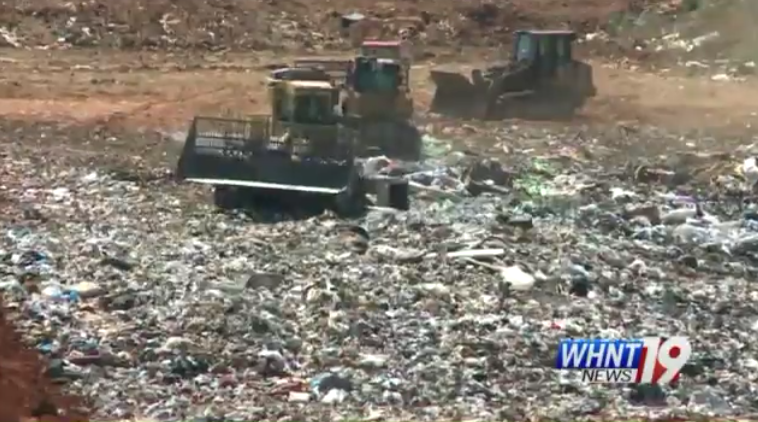 A look at Garbage Mountain in Morgan County.