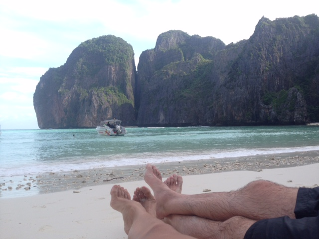 Relaxation in Phi Phi Islands, Thailand at last!