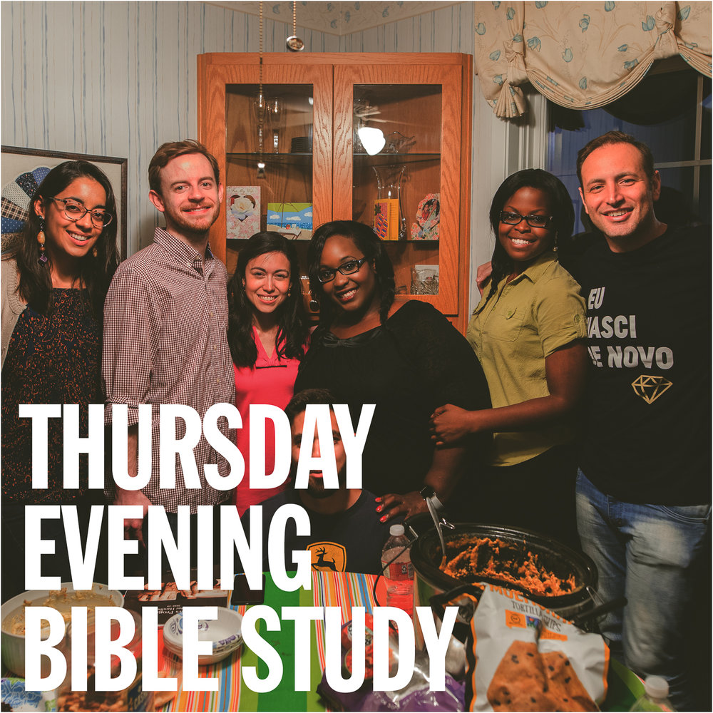 """IRON SHARPEN IRON"" THURSDAY EVENING BIBLE STUDY at 7:30pm  (OFF-CAMPUS)  [Contact:  Jeremiah <jerebert@gmail.com> or Lorena <Loredoval@hotmail.com> for venue]"