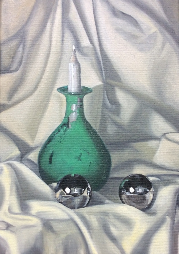 Classical Art Academy Students First Studies Oil Painting Still Life