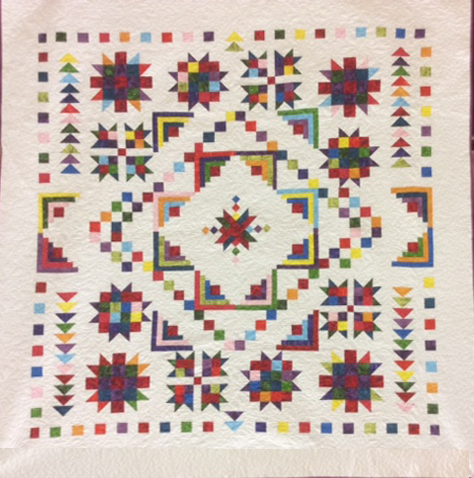 2015 Proper Bostonian Quilters Raffle Quilt