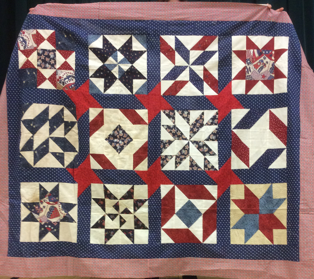 Stars, Block of the Month, Quilter's Compass