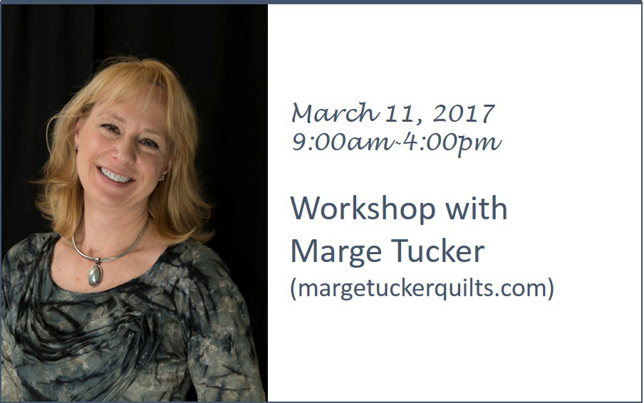 Marge Tucker Workshop - March 11, 2017