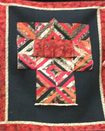 Linda S - Red kimono