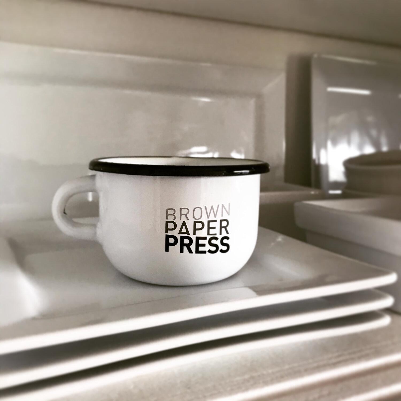 Camping Mug Anyone Brown Paper Press