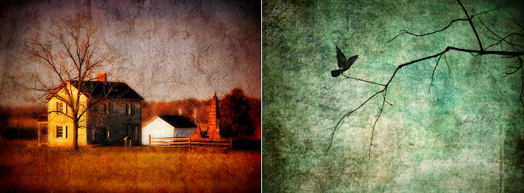(L) 'Soul's Estate' (R)'Knowing' © Christy Hydeck