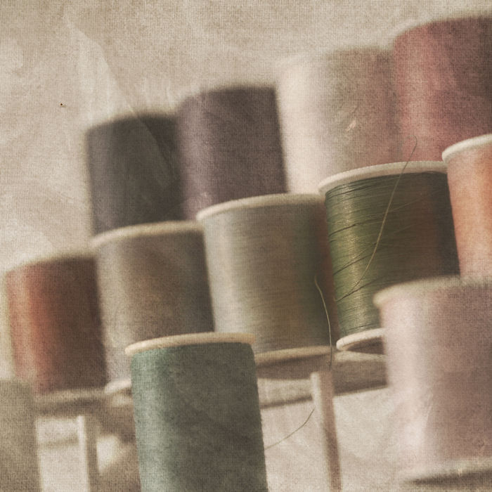 Thread Spools | Raleigh, North Carolina | © Christy Hydeck