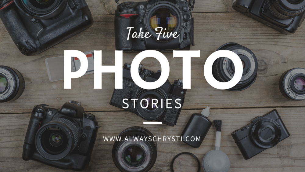 Share your love of photography with my audience! Take 5 Photo Stories is an ongoing celebration of images and moments that can reach and connect with the viewer who may only have just a few free moments of time. Read on to discover how you can participate in my take 5 photo stories too!