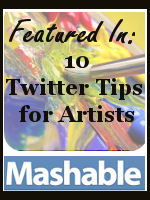 Tweetable Art: 10 Twitter Tips for Artists