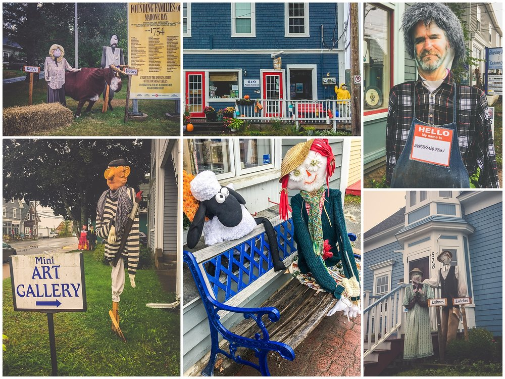 2016 Mahone Bay Scarecrow Festival // Nova Scotia, Canada //© Christy Hydeck