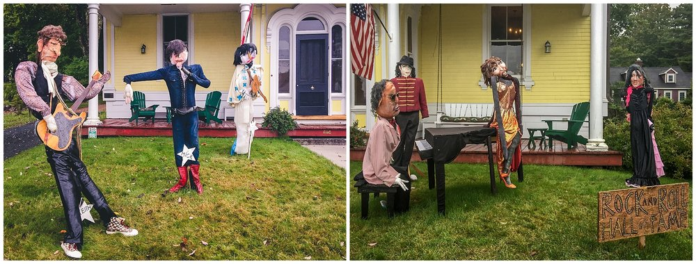 Rock-N-Roll Hall of Fame // 2016 Mahone Bay Scarecrow Festival // Nova Scotia, Canada //© Christy Hydeck