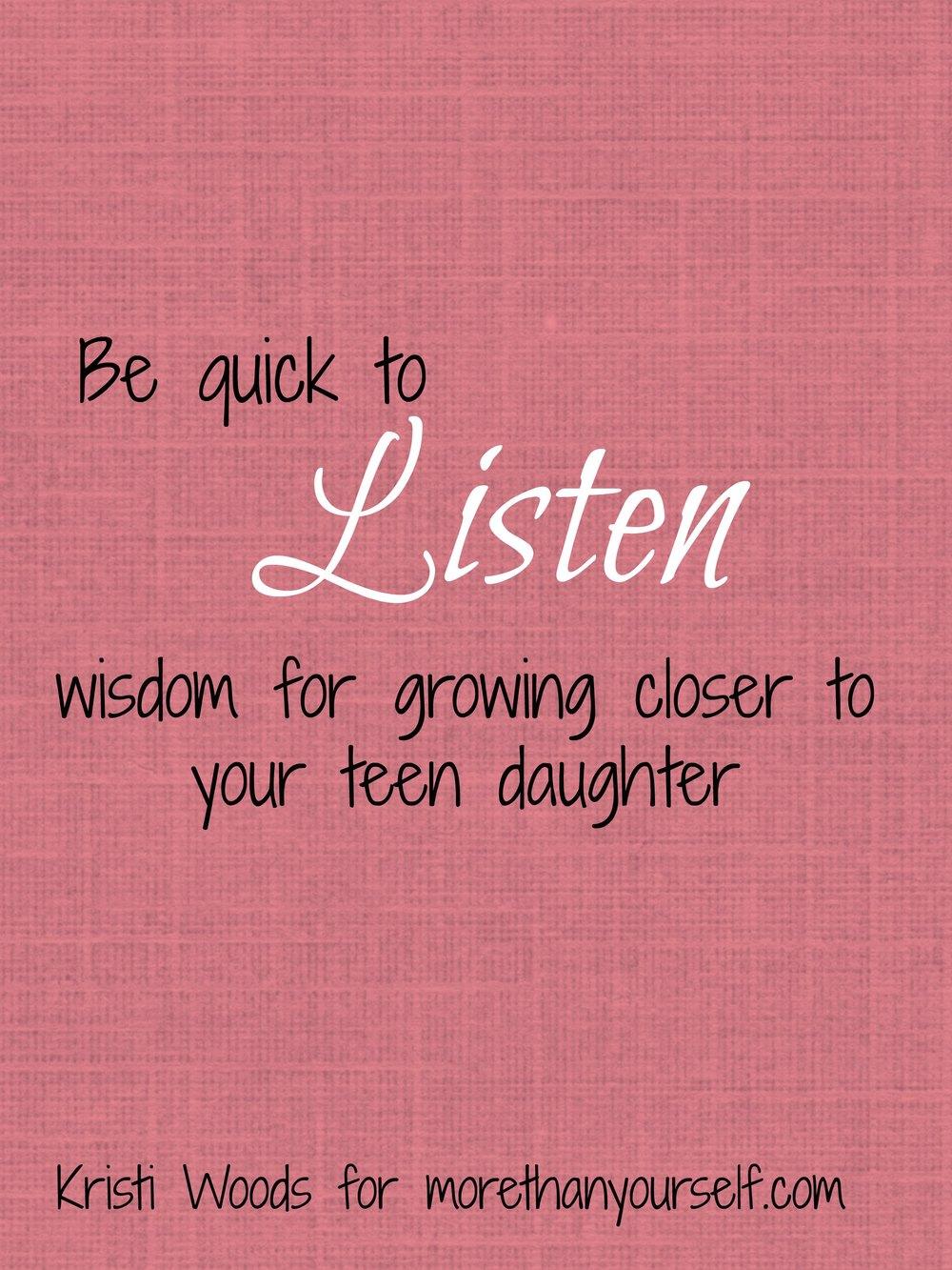quick-to-listen