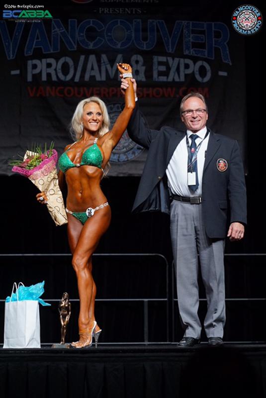 1st Place Masters Bikini/Masters Overall Winner