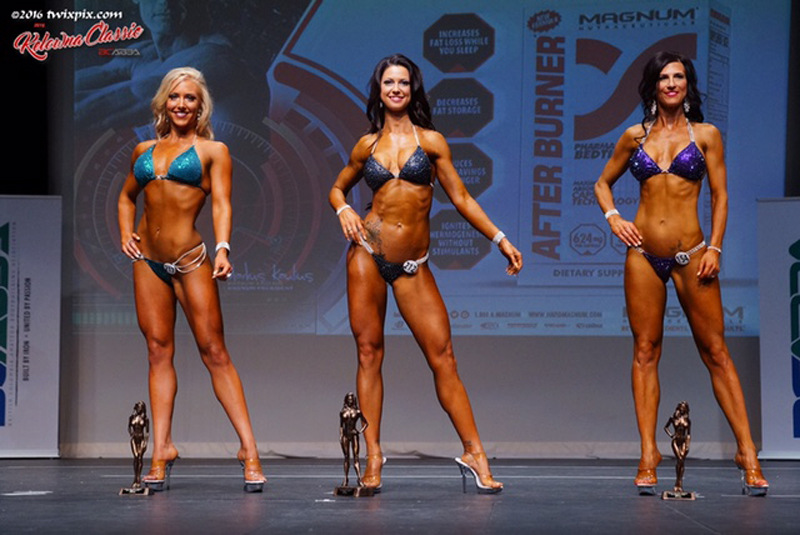 2nd Place Open Bikini