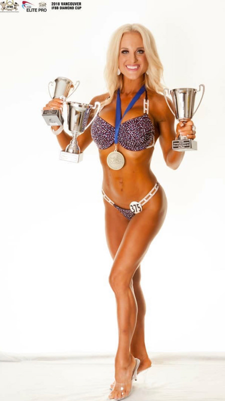 ANGELA A - IFBB ELITE PRO BIKINI COMPETITOR, Winner of IFBB ELITE PRO CARD Diamond Cup