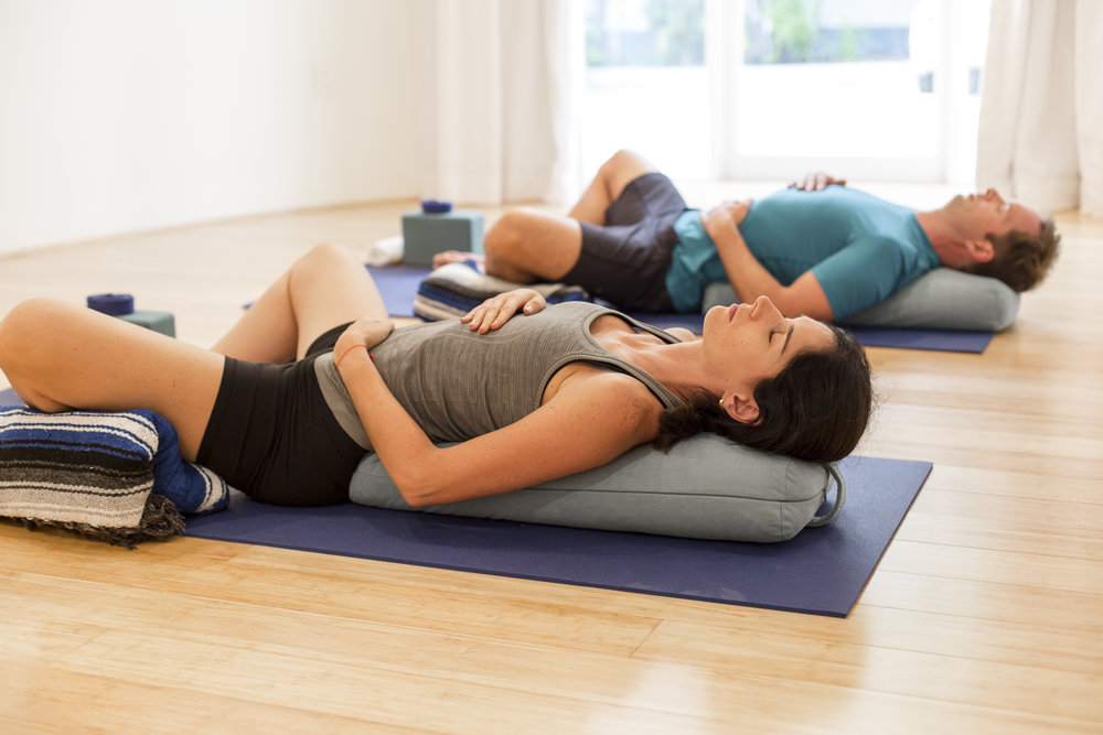 Restorative Yoga For Rehabilitation or Relaxing