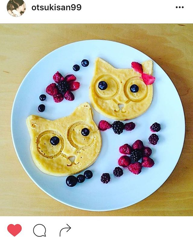 @otsukisan99 Omelette art! Getting the day started with a beautiful breakfast 😸 #categg #categgmold  www.eggaddiction.com PROMO CODE: INSTA25 #eggaddiction