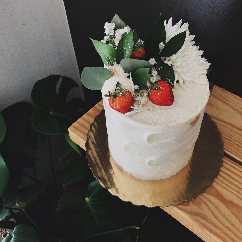 full iced cake