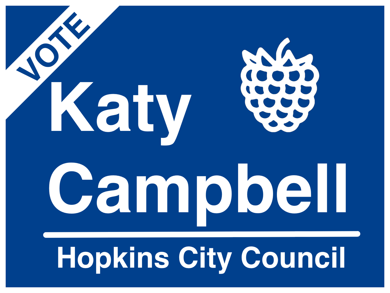 Katy Campbell for Hopkins