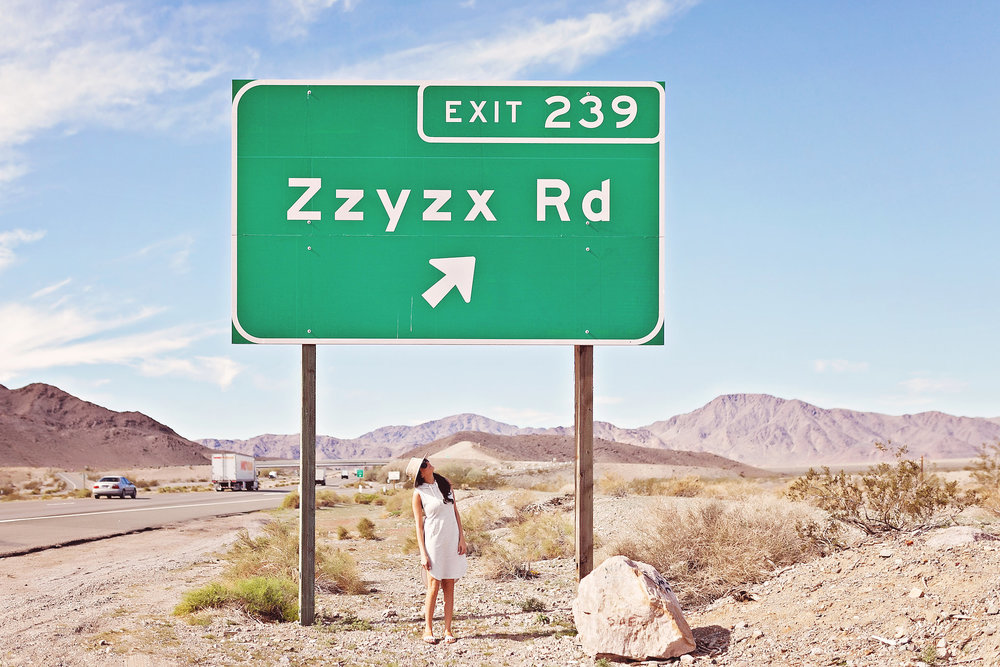 Zzyzk Road // Nina Tekwani - Photographer & Blogger // www.ninatekwani.com