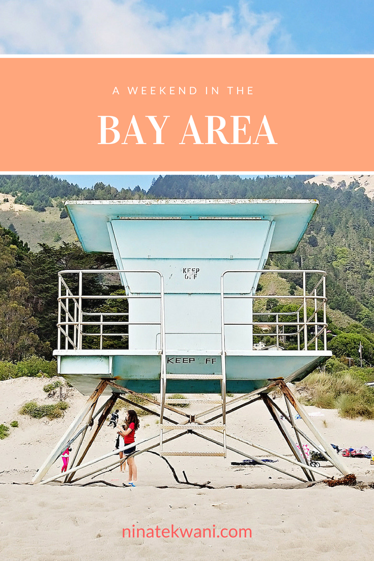 How to spend a weekend in San Francisco's Bay Area! #SanFran #SanFrancisco #California