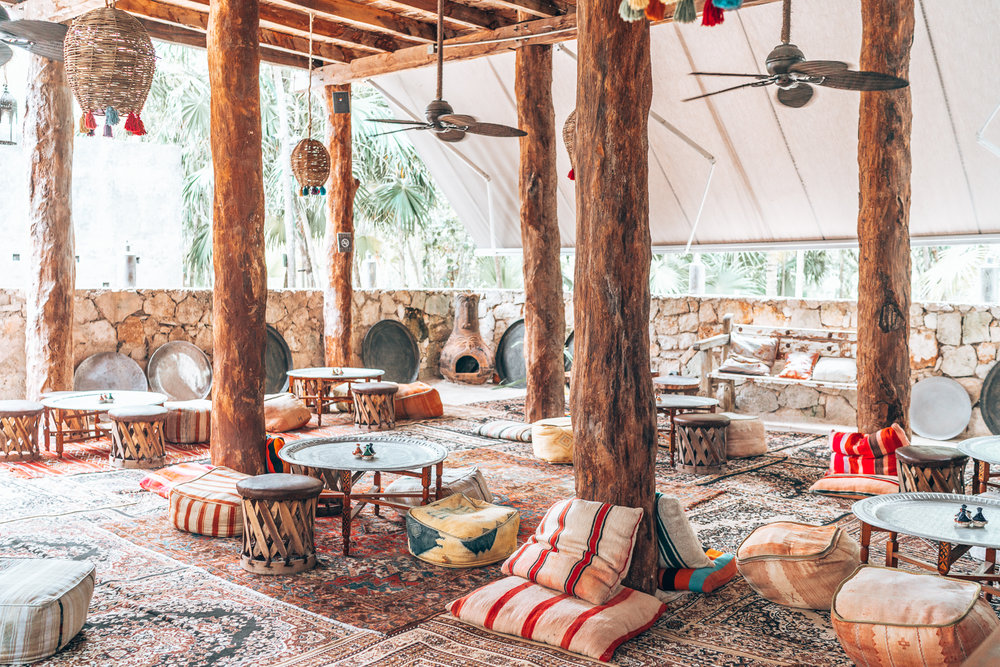 Tulum is a dreamlike Caribbean beach setting with incredible boho vibes to match. If you're looking for a perfect getaway with the gals or a romantic respite with your partner, you're going to love Tulum! #Tulum #Boho #Decor