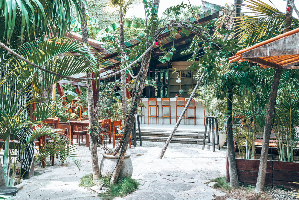 Tulum in Mexico boasts some of the most incredible restaurants and bars set amid lush jungle vibes. If you love all things bohemian, you need to put Tulum in your Yucatan itinerary! #Yucatan #Tulum