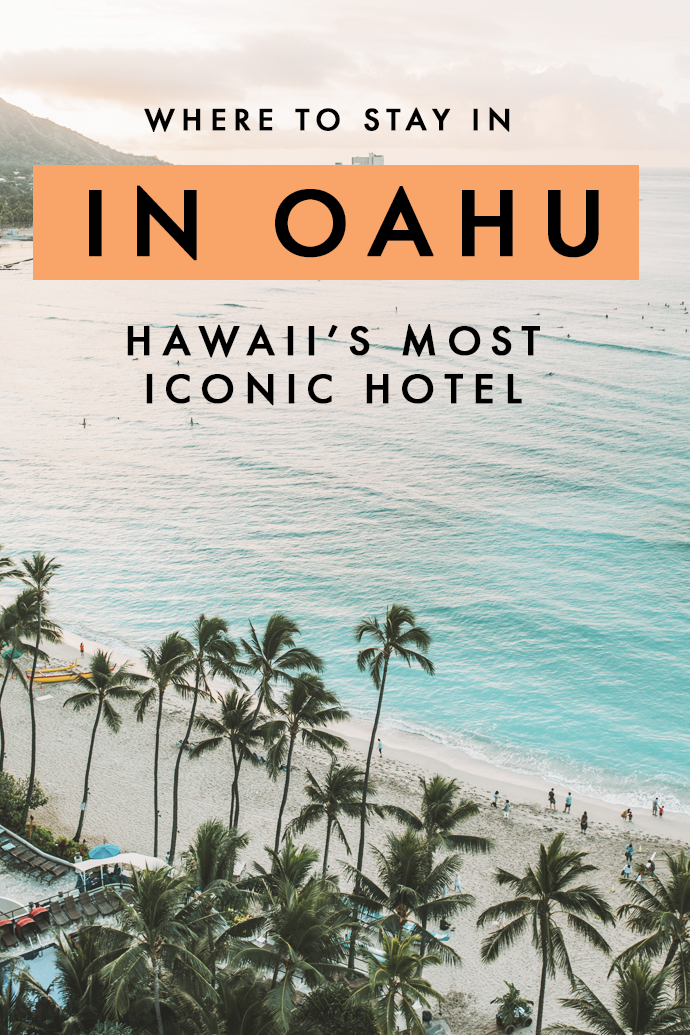 Looking for the best hotel in Oahu? Here's why I loved by stay at this iconic hotel and why you'll fall in love with it as much as I did! (Hint: It's pink!) #Hawaii #Oahu #Honolulu #HawaiiHotel
