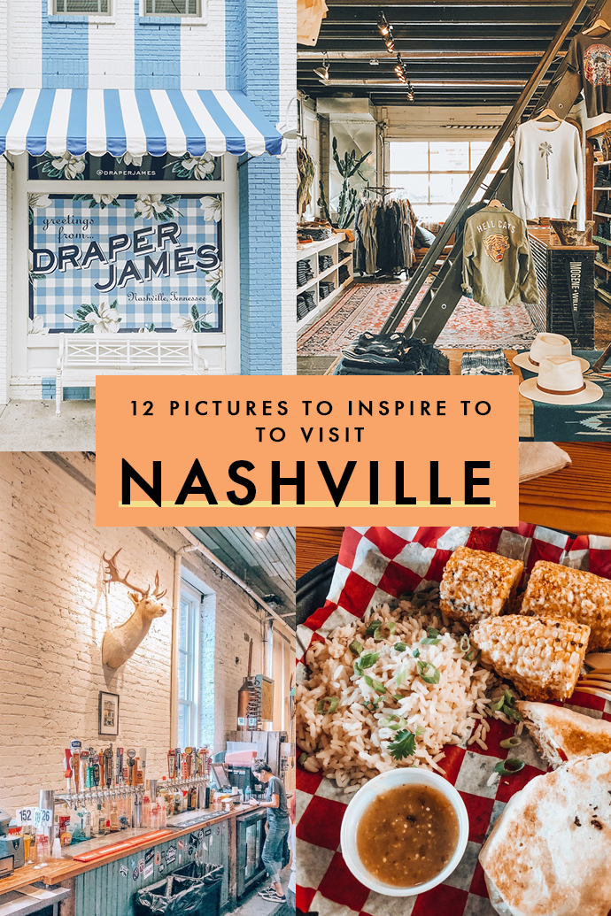 Music, boho vibes, and charming neighborhoods are just a few of the things that make Nashville such a quaint city. Thinking of your next destination? Here are twelve pictures of my time in the Music City that will inspire you to put it in your USA travel bucket list. #Nashville #Tennessee #USATravel #Getaways