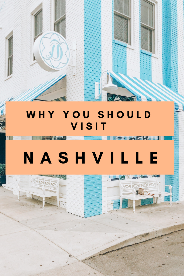 Nashville is booming as a bachelorette party destination, but you don't need to be a bride to spend an incredible weekend in Nashville. Here's why you need to make the Music City your next getaway! #Nashville #Tennessee