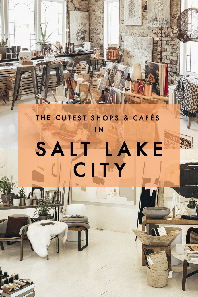 Have a day to spare in Salt Lake City after all that skiing madness? I've rounded up a list of the best shops, restaurants, and coffee shops in Salt Lake City so you can make the most out of day in the capital of Utah! #Utah #SaltLakeCity