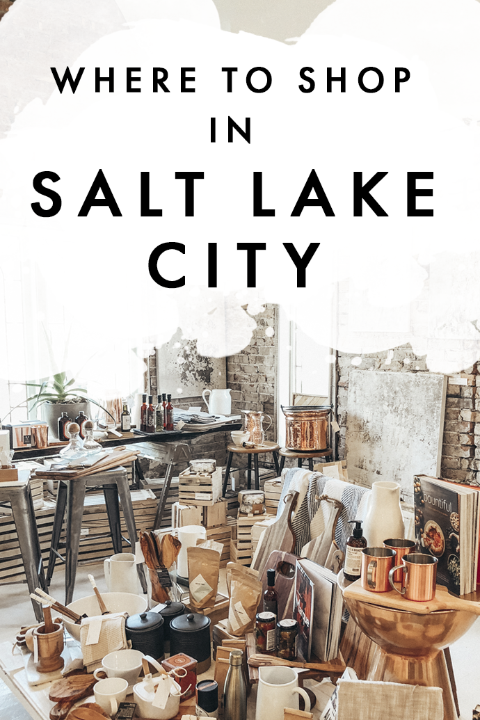 Think boho decor, vintage books, and handmade trinkets and you've pretty much guessed the content of this post. If you're into old-world charm, you need to visit these shops in Salt Lake City. #Utah #SaltLakeCity #SaltLakeCityShopping