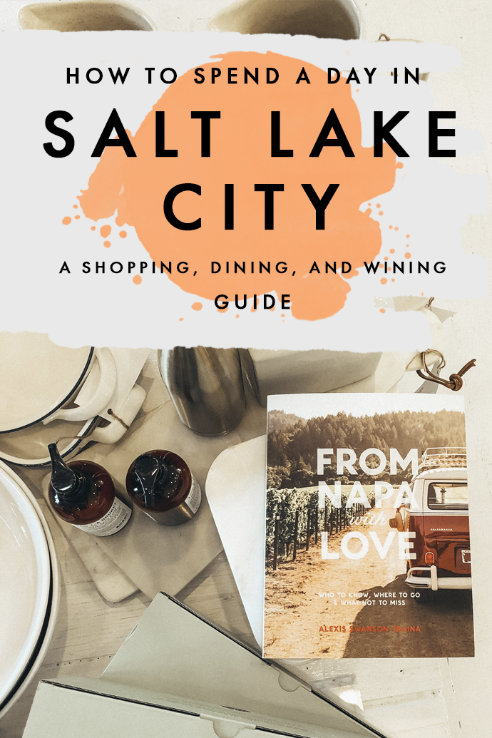 Have a few hours to spare in Salt Lake City after skiing and not sure what to do? I've got you! Whether you have a few hours in Salt Lake City or a full day, here are my top recommendations for the best places to dine in Salt Lake City as well as a shopping guide with lots of southern boho vibes! #SaltLakeCity #Utah