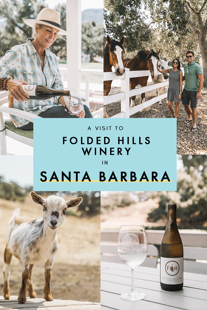 No Santa Barbara itinerary is complete without a few wine-tasting escapades to all its picture-perfect wineries. First stop on the list: Folded Hills! Here are all my how-tos to get the most out of your time at my favorite Santa Barbara winery! #SantaBarbara #California #SantaBarbaraDayTrip #CaliforniaTravel