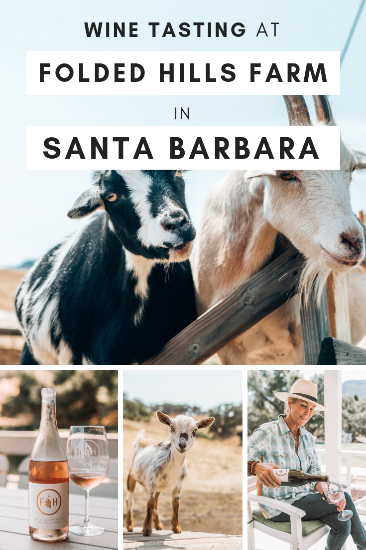 Whether you're in Santa Barbara for a quick girls' getaway or on a longer California road trip, you can't leave without a visit to one of Santa Barbara's most charming wineries: Folded Hills. Here's how to get the most out of your time here (with lots of wine included, of course!) #SantaBarbara #WineTasting #Winery #California #CaliforniaGetaways
