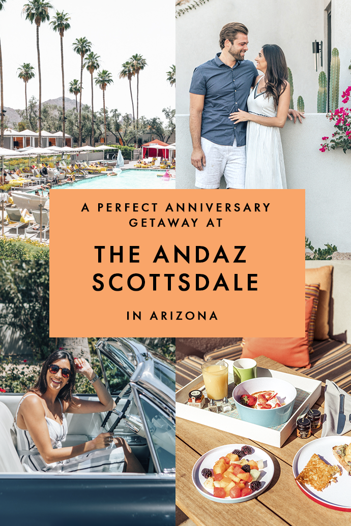 Visiting Scottsdale in Arizona soon and looking for the perfect place to stay? Here's why I loved my stay at The Andaz Boutique Hotel in Scottsdale, and why you will, too! #Scottsdale #Arizona #Andaz