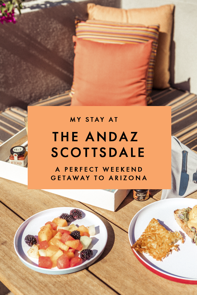 Looking for a stunning boutique hotel in Scottsdale? Here's why I fell in love with The Andaz Scottsdale and why you will, too! #Scottsdale #Arizona #TheAndaz #BoutiqueHotels