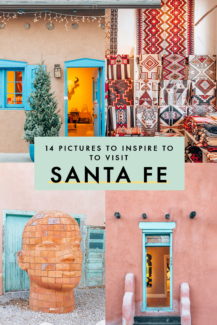 There's nothing quite as magical as a stroll through Canyon Road to get some serious creative inspiration. If you love art, quirky architecture, and have a thing for textiles, Santa Fe needs to be your next stop. #SantaFe #NewMexico #USATravel #Wanderlust