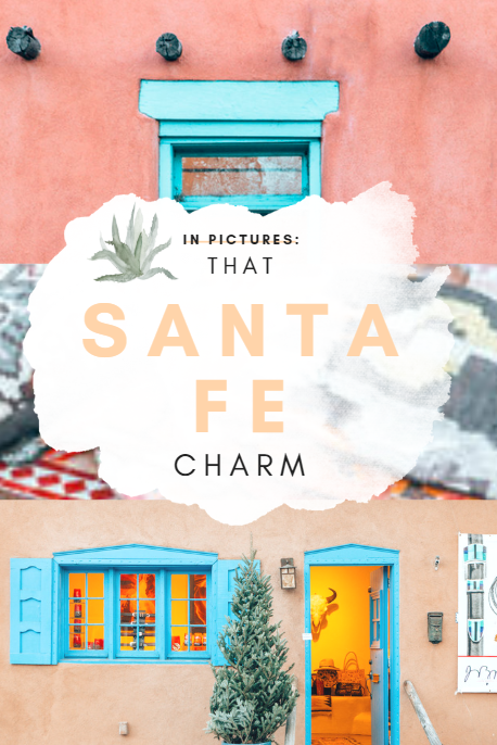 Quirky buildings, art galleries, intricate textiles, and vintage boutiques, Santa Fe is the perfect destination for creative people. Here are a few pictures that prove Santa Fe is the most soulful place in the USA. #SantaFe #NewMexico #SantaFeTravel