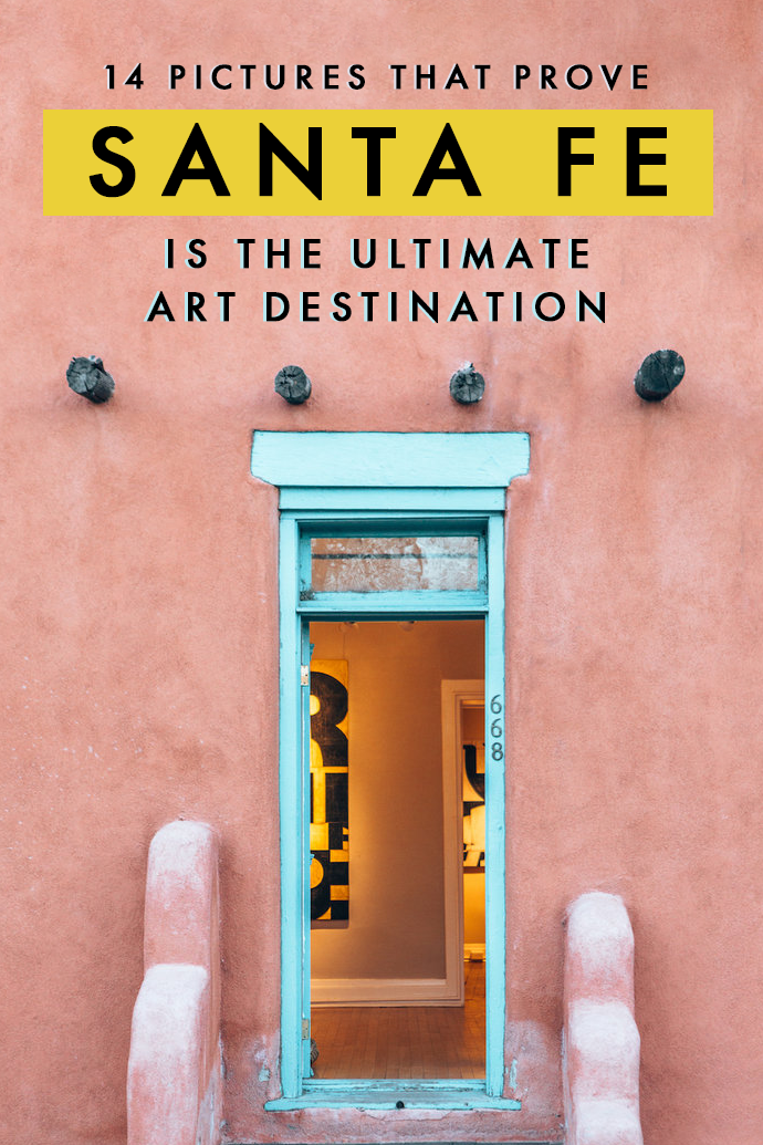 Are you thinking of your next getaway? Love art and boho-charm? Then put Santa Fe in your bucket list, like… now! Here are 14 pictures that prove Santa Fe is the perfect place for all my fellow artsy folks! #SantaFe #NewMexico #USATravel #Getaways