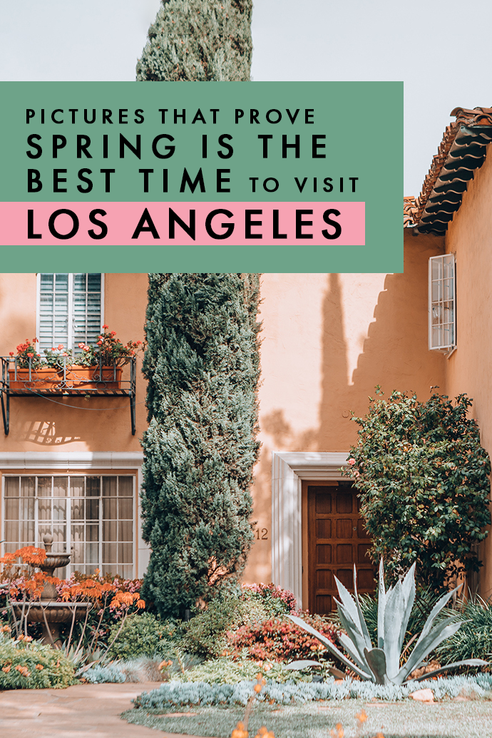 Love flowerscapes and picture-perfect home inspiration? Here are all the reasons LA is the perfect spring destination! #LA #LosAngeles