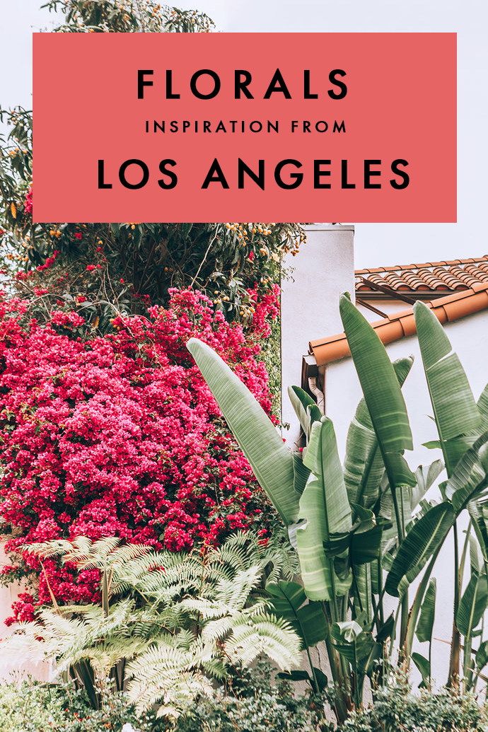 It's no secret that LA is a major go-to spot for incredible homes and Spring brings in some serious floral inspiration to Los Angeles. #LosAngeles #California #FloralHome #Florals #FlowerDecor
