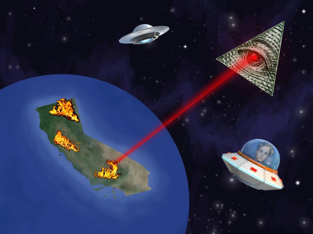 The California Fires Laser {Forumaden}