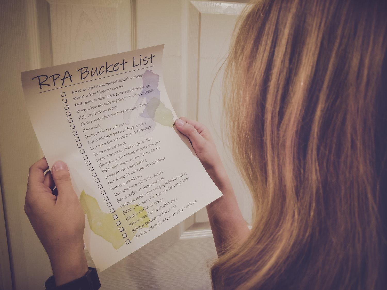 RPA Bucket List — Speck