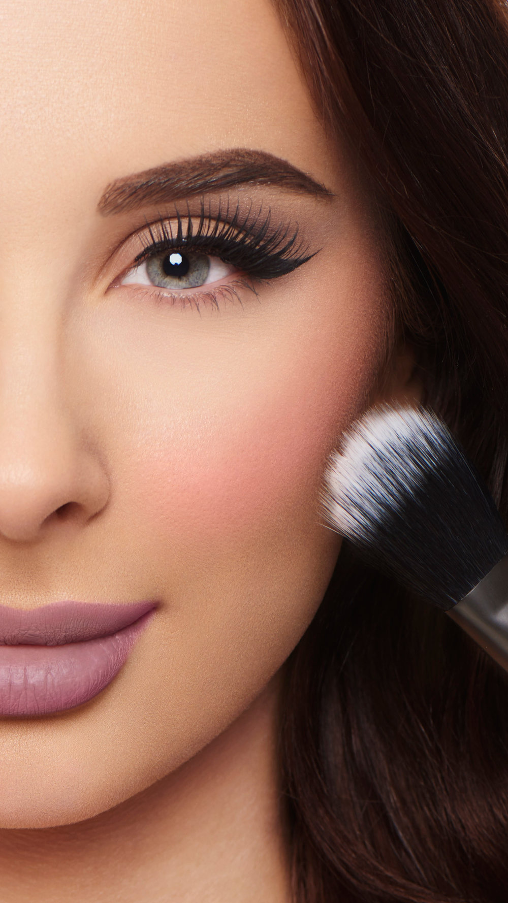 @ginashkeda for NYX Cosmetics
