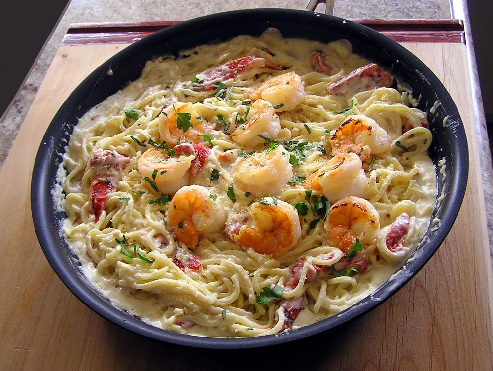 Shrimp Scampi - Chardonnay