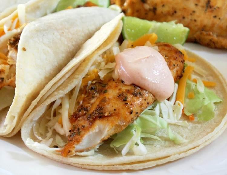 Fish Tacos - Sauvignon Blanc