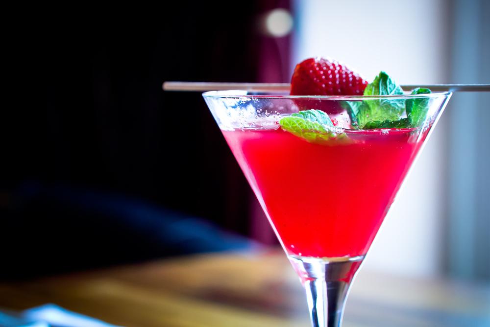 Strawberry Winetini